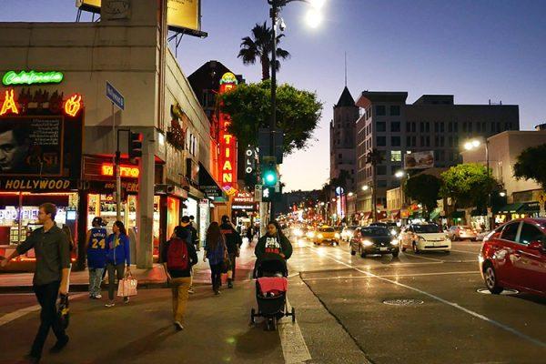 Hollywood Bvd nuit