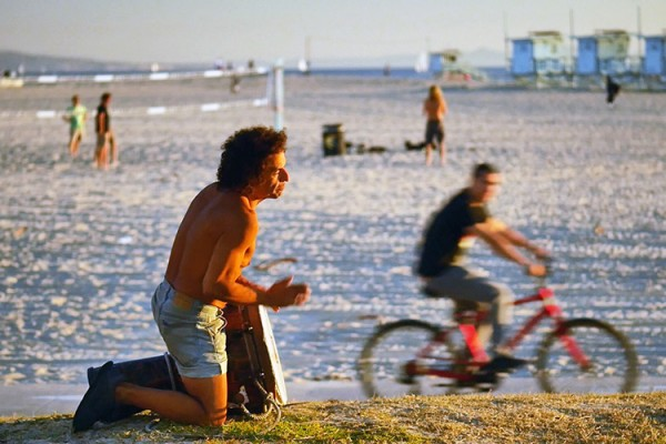 Venice Beach près de boardwalk