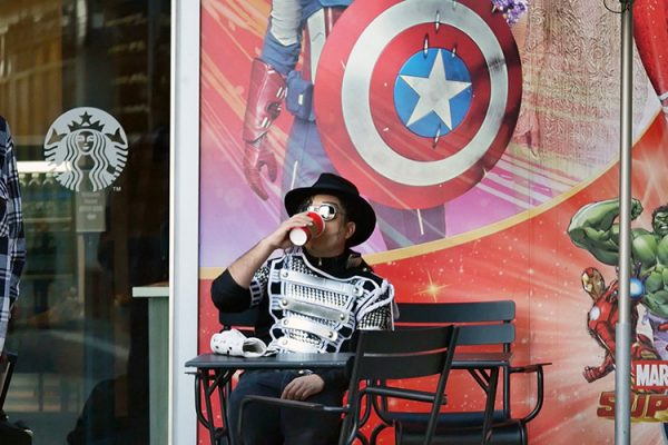 hollywood blvd Michael J copie